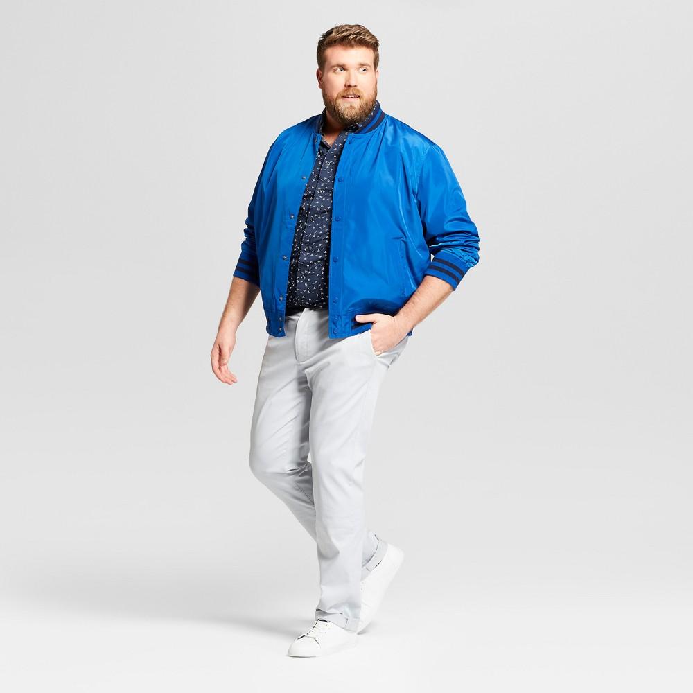 Men S Tall Slim Fit Hennepin Chino Pants Goodfellow Co 8482 Light Gray 32x36