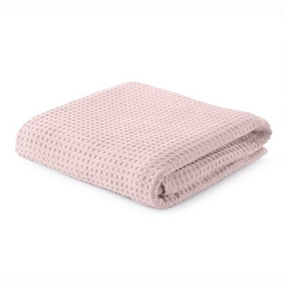Great Bay Home 100% Cotton Waffle Weave Blanket