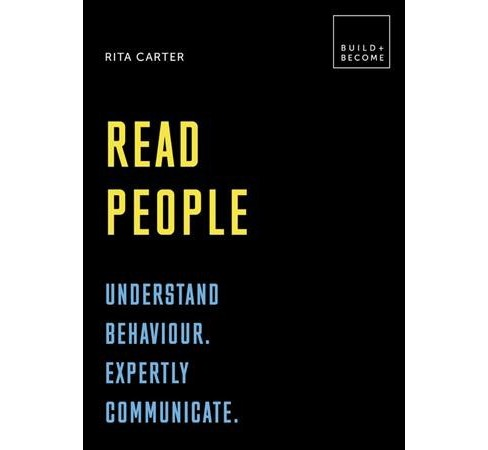 Read People : 20 Thought-Provoking Lessons -  (Build+Become) by Rita Carter (Hardcover) - image 1 of 1
