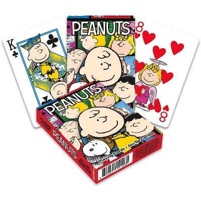 NMR Distribution Peanuts Cast Playing Cards | 52 Card Deck + 2 Jokers