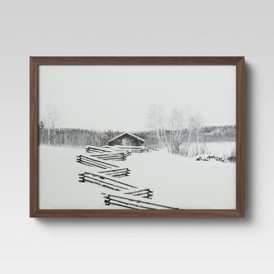 """16"""" x 12"""" Cabin Framed Print - Threshold™"""