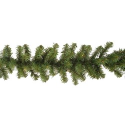 Philips 9ft Christmas Prelit Artificial Pine Garland Clear