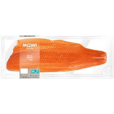 MOWI Fresh Atlantic Salmon Side - 30oz