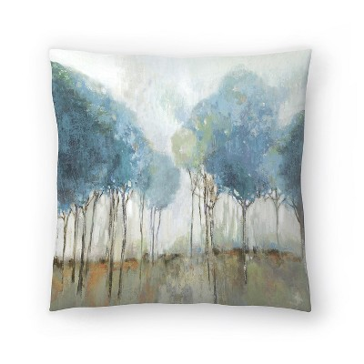 Americanflat Misty Meadow Ii by Pi Creative Art Throw Pillow