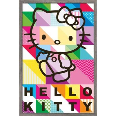 Trends International Hello Kitty - Patterns Unframed Wall Poster Print