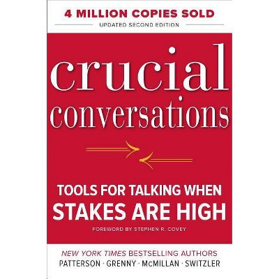 Crucial Conversations: Tools for Talking When Stakes Are High, Second Edition - 2nd Edition (Hardcover)