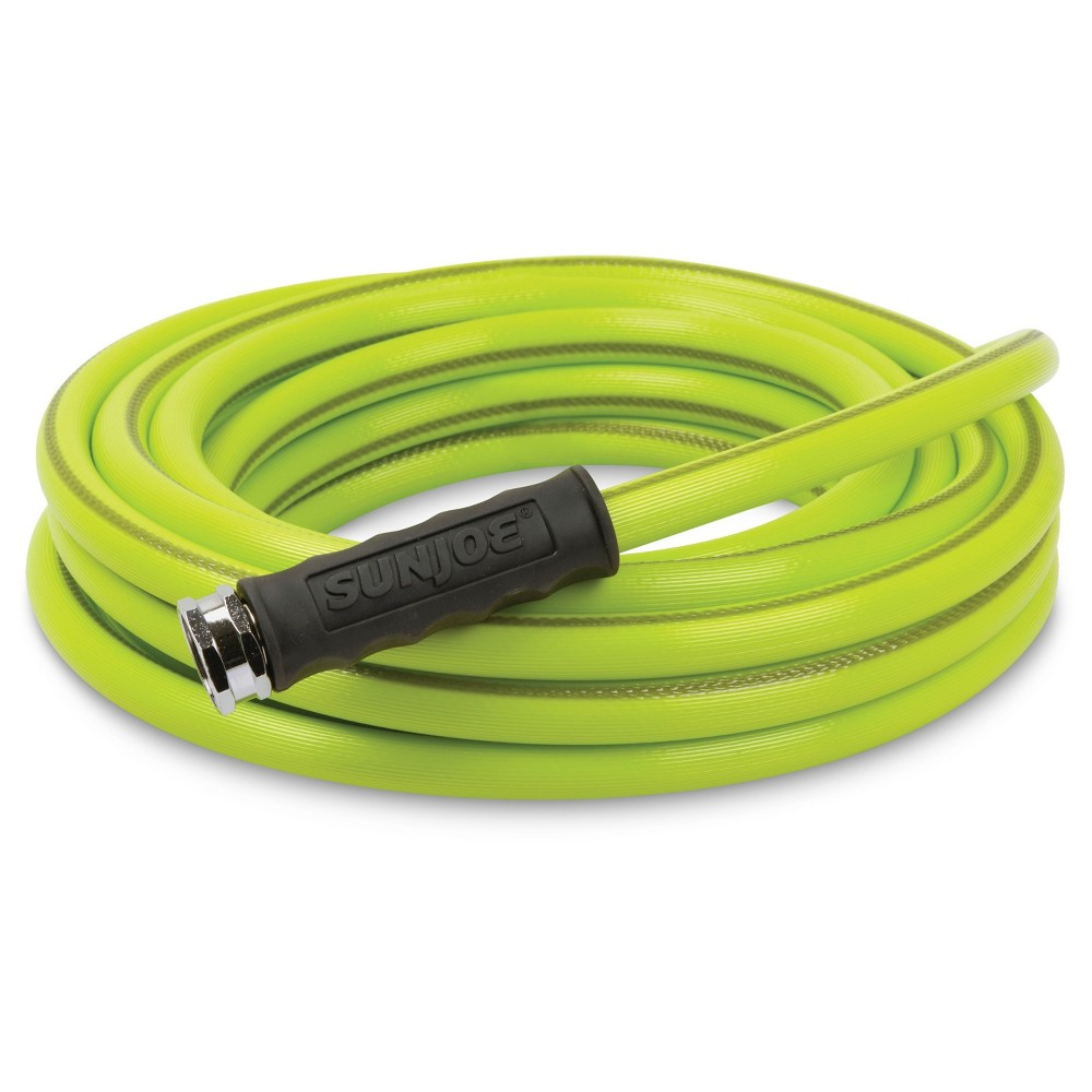 Sun Joe 5/8 Heavy Duty Garden Hose - 50' - Green
