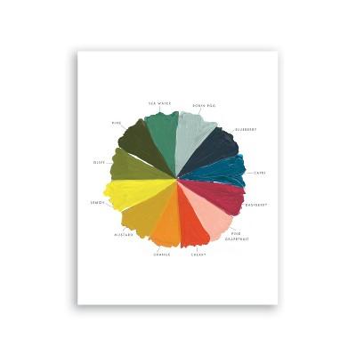 Clementine Kids Color Wheel Art
