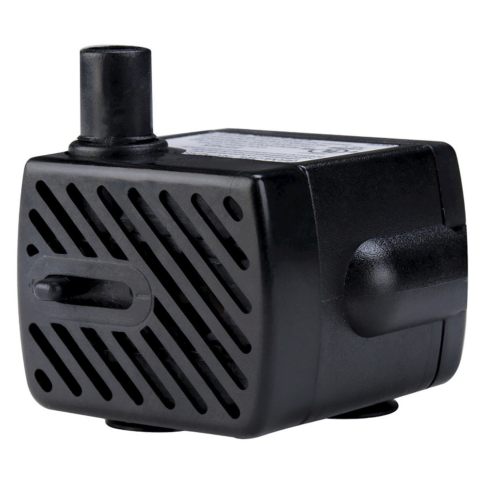 "Image of ""1"""" Pond Boss 50 GPH Fountain Pump, Black"""