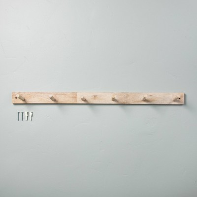 Wood 6-Peg Wall Hook - Hearth & Hand™ with Magnolia