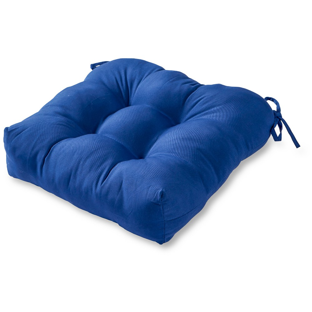 Image of Greendale Home Fashions 20 Outdoor Chair Cushion - Marine