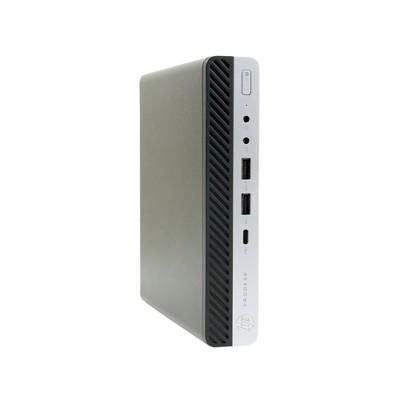 HP 600 G3-MINI Certified Pre-Owned PC, Core i7-6700T 2.8GHz, 16GB Ram, 512GB SSD, Win10 Pro (64-bit) Manufacturer Refurbished