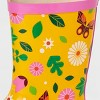 Kids' Butterfly Garden Rain Boots Yellow - Kid Made Modern - image 2 of 2