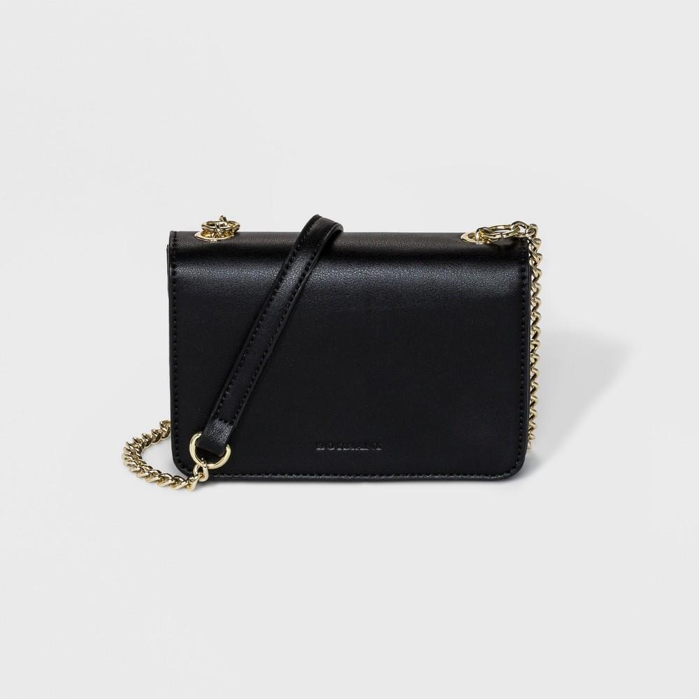 Borsani Mini Satchel Handbag - Black, Women's, Size: Small