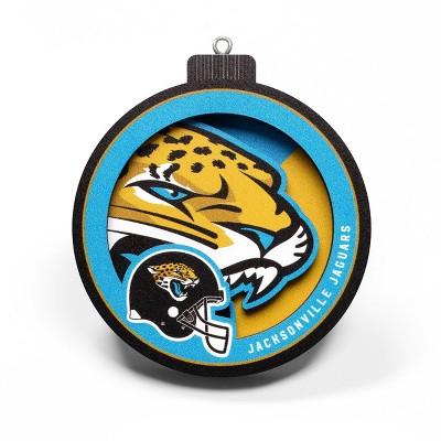 NFL Jacksonville Jaguars 3D Logo Series Ornament