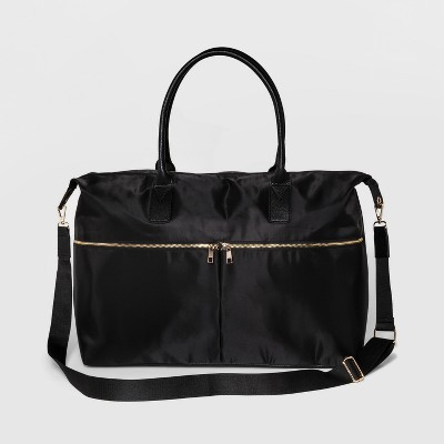Nylon Weekender Bag - A New Day™ Black