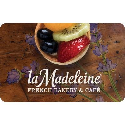La Madeleine $25 (Email Delivery)