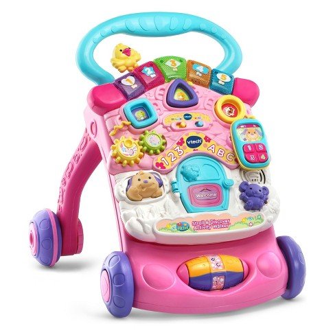VTech Stroll and Discover Activity Walker - Pink - image 1 of 4