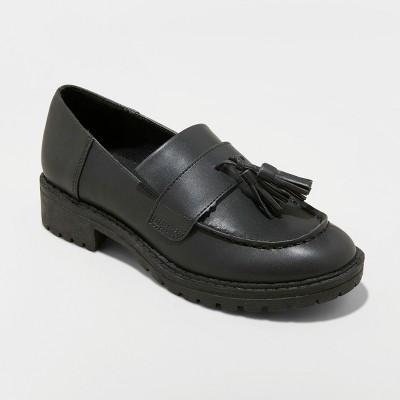Women s Mallory Tassel Loafers - Wild Fable™ Black