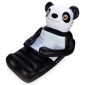 SwimWays Huggables Oversized Pool Float with Cup Holder - Panda Bear