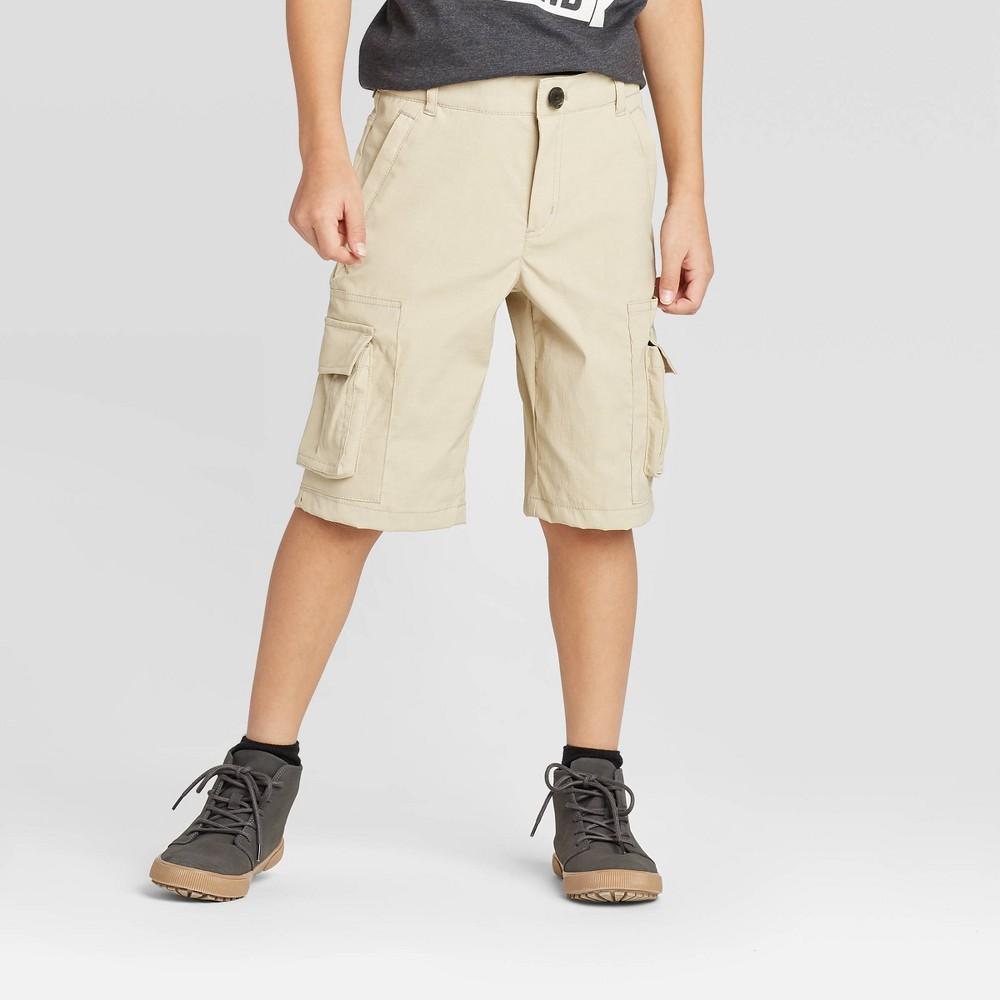 Image of Boys' Cargo Shorts - Cat & Jack Beige 10, Boy's