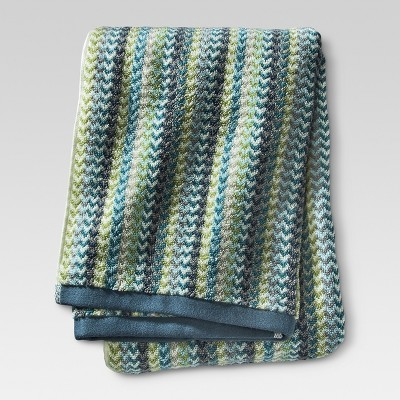 Geometric Bath Towel - Cool - Threshold™