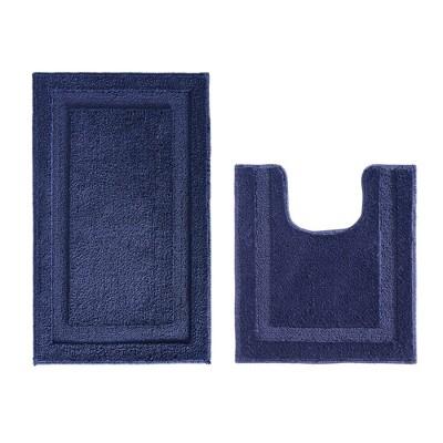 Microfiber Bathroom Shower Accent Rug - iDESIGN