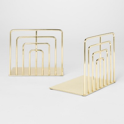 Decorative Wire Bookend - Gold - Project 62™