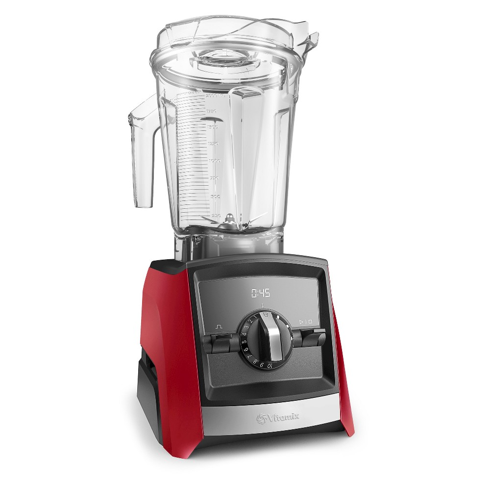 Vitamix A2500 Ascent Series Blender - Red 062067 For a modern blender that has it all, look no further than the Vitamix Series Blender. The 64-ounce blender is great for large families and gatherings, and with 10 different speeds it's easy to find the perfect match for your tasty creation. The 10-speed blender has a pulse feature that keeps you in control, and is great at crushing ice for fun summertime beverages. Color: Red.