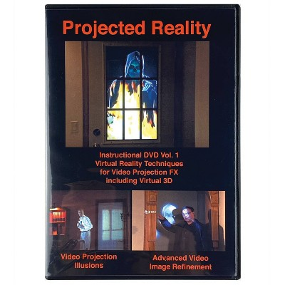 DVD Projected Reality Vol 1 Halloween LED Special Effect Lights