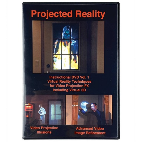 DVD Projected Reality Vol 1 Halloween LED Special Effect Lights - image 1 of 2