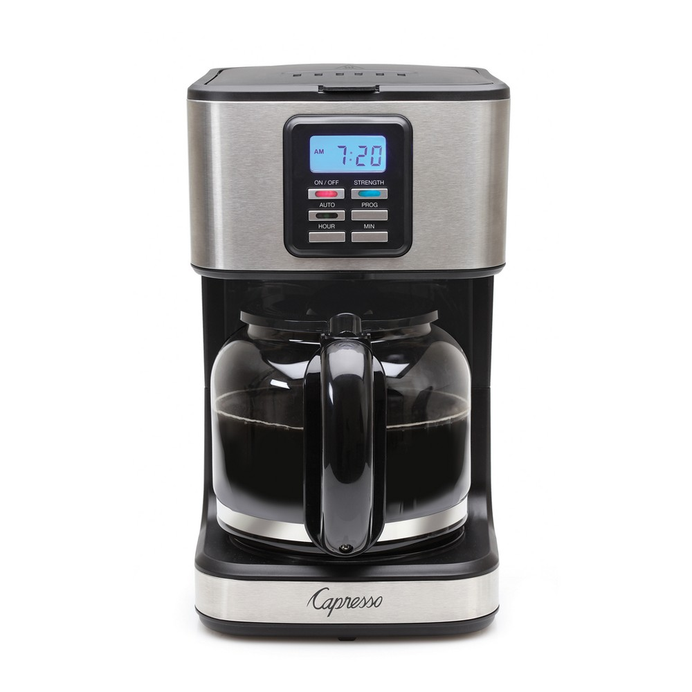 Capresso 12-Cup Coffee Maker SG220, Silver 53132137