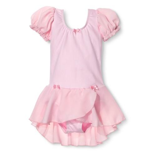 addbc5f72 Danz N Motion Girls  Activewear Leotard Dress - Pink   Target