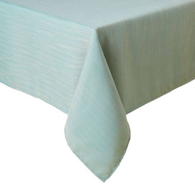 """60""""X102"""" Harper Tablecloth Blue - Town & Country Living"""