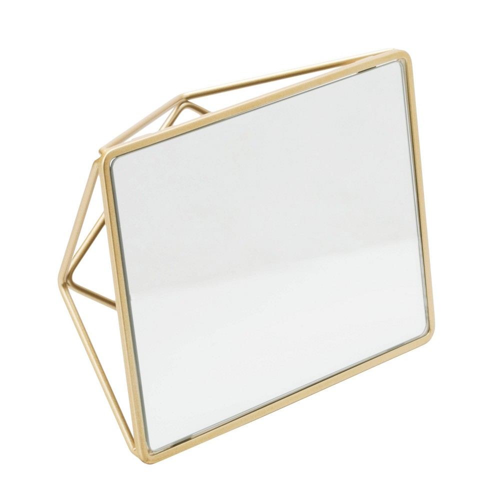 Image of Bathroom Vanity Mirrors Gold - Home Details