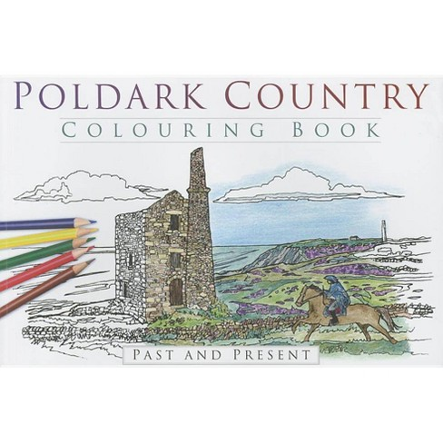 Poldark Country Colouring Book - (Paperback) - image 1 of 1