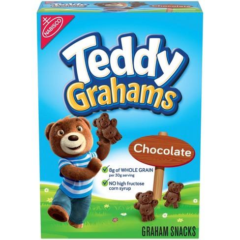 Teddy Grahams Chocolate Graham Snacks - 10oz - image 1 of 4