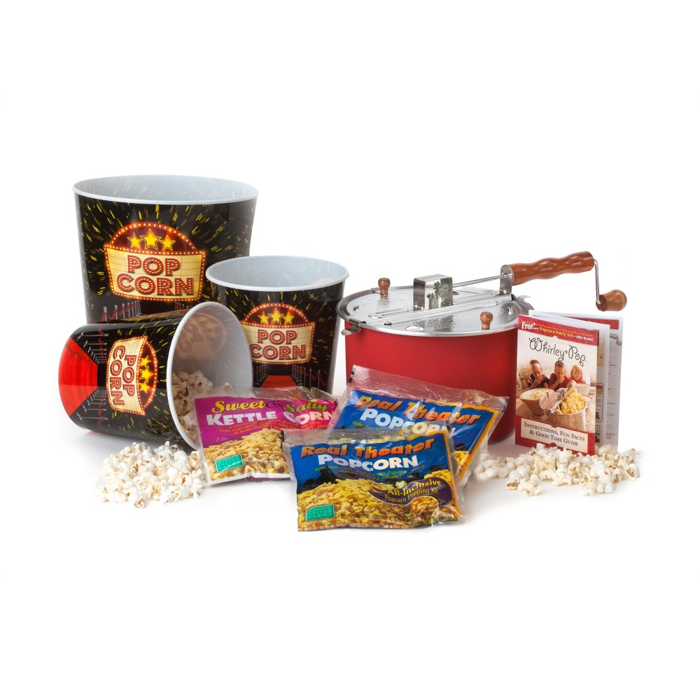 Image of Whirley Pop Ultimate Popcorn Gift Set