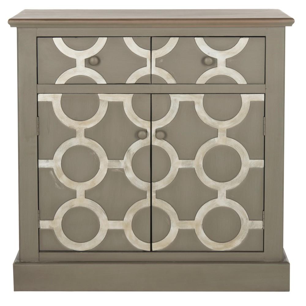 Chest Gray - Safavieh, Decorative Storage Cabinets