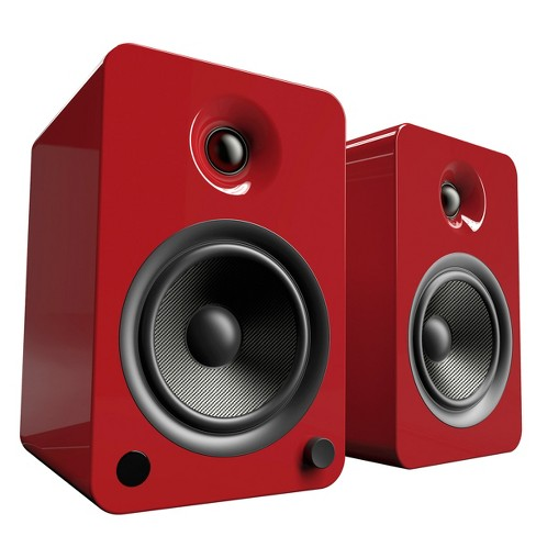 Kanto YU6 Powered Bookshelf Speakers with Built-In Bluetooth - Pair - image 1 of 4