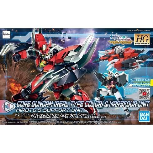 Bandai Spirits Build Divers Re:Rise Core Gundam & Marsfour Unit HG 1/144 Model Kit - image 1 of 3