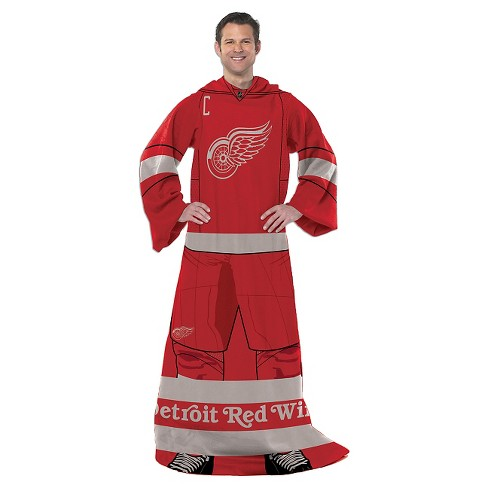 Detroit Red Wings Northwest Uniform Comfy Throw - image 1 of 1