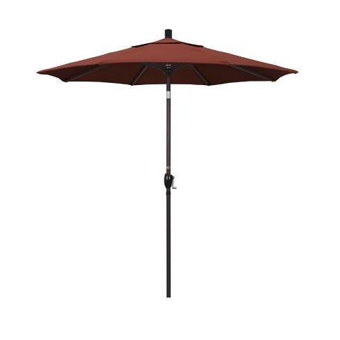 7.5' Patio Umbrella in Terracotta - California Umbrella - image 1 of 2