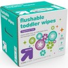 Toddler and Family Flushable Unscented Wipes - 432ct - Up&Up™ - image 2 of 8