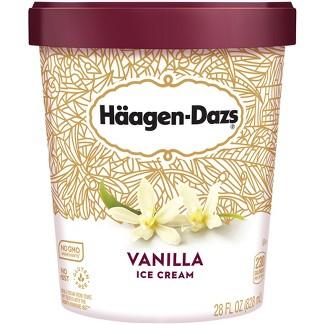 Haagen Dazs® Vanilla Ice Cream - 28oz