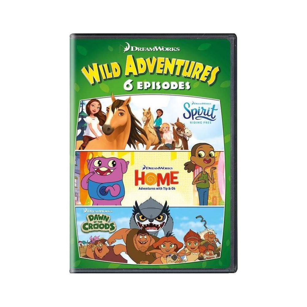 Dreamworks 6 Wild Adventures (DVD) Best