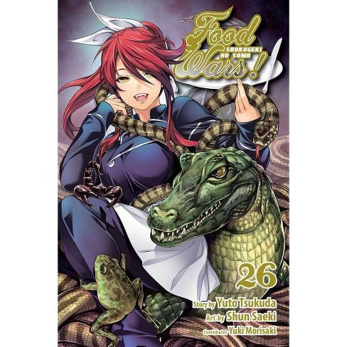 Food Wars!: Shokugeki No Soma, Vol. 26 - by  Yuto Tsukuda (Paperback) - image 1 of 1