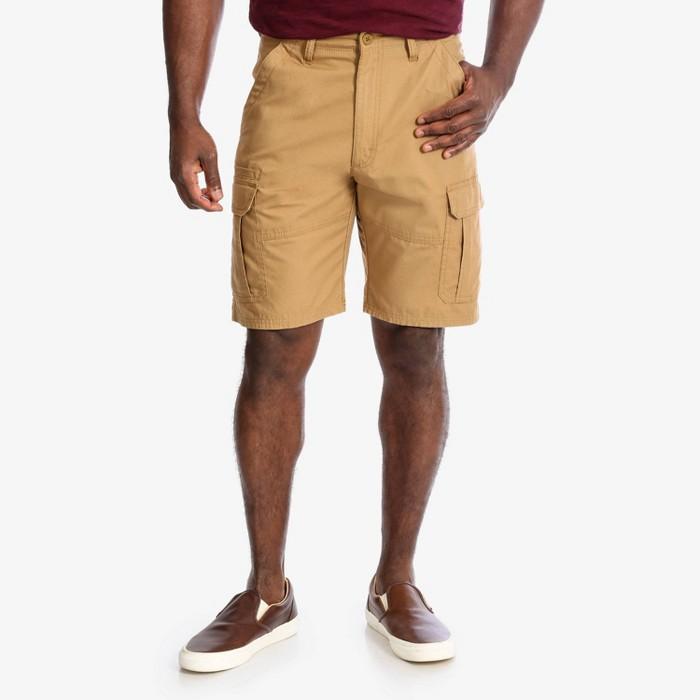 Wrangler Men's Cargo Twill Ripstop Shorts - image 1 of 7