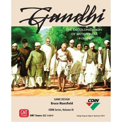 Gandhi - The Decolonization of British India 1917-1947 Board Game - image 1 of 1