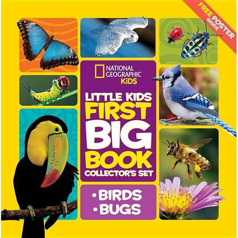 Little Kids First Big Book Collector's Set: Birds and Bugs - by  Catherine D Hughes (Hardcover) - image 1 of 1